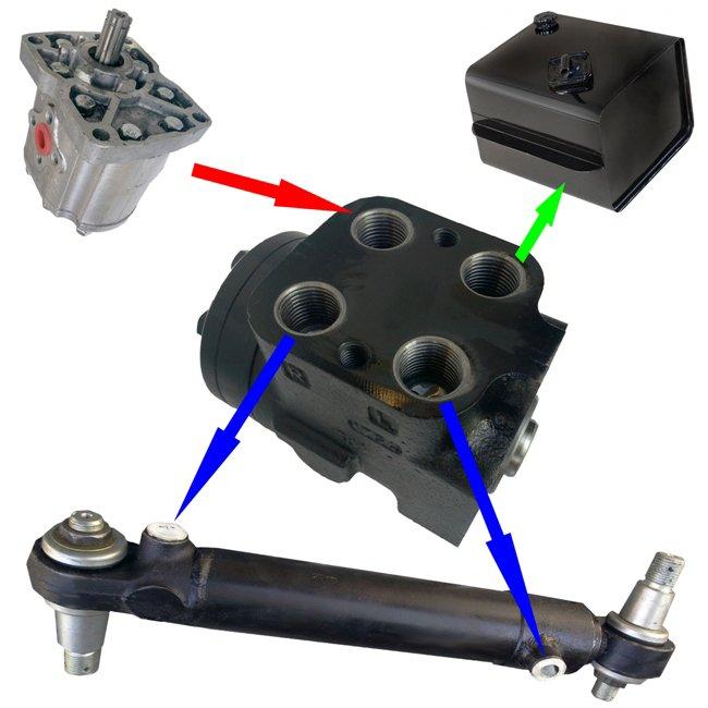Схема подключения насос